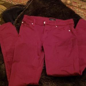 Celebrity Pink burgundy jeans
